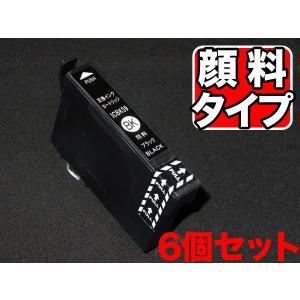 ICBK59 エプソン用 IC59 互換インクカートリッジ 顔料 ブラック 6個セット 顔料ブラック×6個セット|komamono