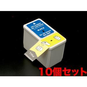 MJIC エプソン用 互換 インクカートリッジ ブラック MJIC8 10個パック ブラック 10個パック|komamono