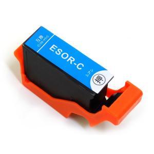 SOR-C エプソン用 SOR ソリ 互換インクカートリッジ シアン (EP-50V)|komamono