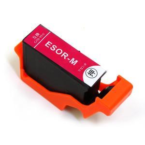 SOR-M エプソン用 SOR ソリ 互換インクカートリッジ マゼンタ (EP-50V)|komamono