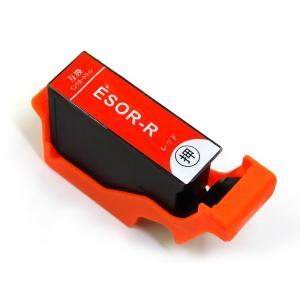 SOR-R エプソン用 SOR ソリ 互換インクカートリッジ レッド (EP-50V)|komamono
