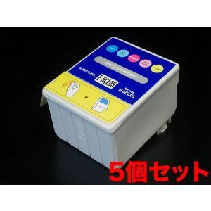 IC05 エプソン用 互換 インクカートリッジ カラー IC5CL05-5 5個パック カラー 5個パック|komamono