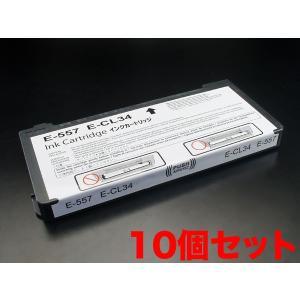 ICCL34 エプソン用 IC34 互換インクカートリッジ 6色一体型×10個セット|komamono