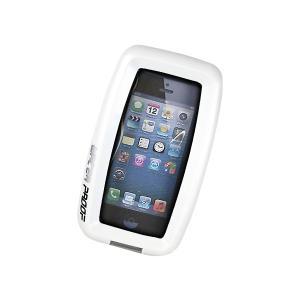 ケースに入れたまま通話&操作が可能!防水モバイルケース ホワイト RJ328WH (sb)|komamono