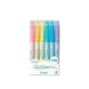 【仕様】 色:6色セット 種類:蛍光ペン インキ:フリクションインキ(全6色) セット内容:SY(ソ...