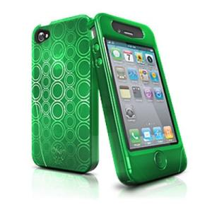 iSkin ソフトケース solo FX for iPhone4 Green SOLOFX4-GN グリーン|komamono
