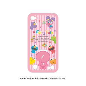 セサミストリート iPhone4 / iPhone4S キャラクタージャケット SSM-17B[在庫限り] Bタイプ|komamono