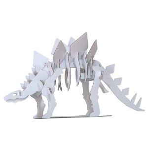 ハコモ ダンボール工作キット hacomo kids ステゴサウルス THM-0180【メール便可】