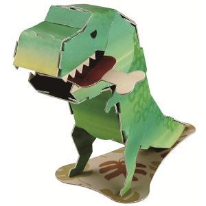 ハコモ ダンボール工作キット hacomo mini 恐竜 THM-2078【メール便可】 恐竜