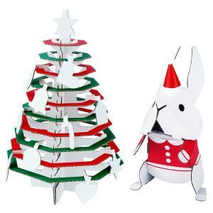 【メール便可】【仕様】 色:クリスマスツリー&うさぎ サイズ:うさぎ:長さ100×幅90×高さ160...
