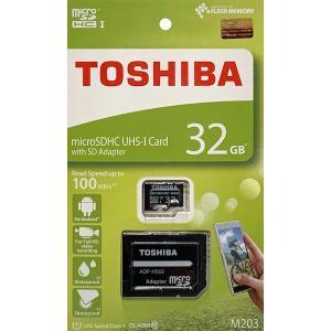 東芝 32GB microSDHCカード CLASS10 UHS-I R アダプタ付(英語パッケージ)THN-M203K0320A2 [入荷待ち]|komamono