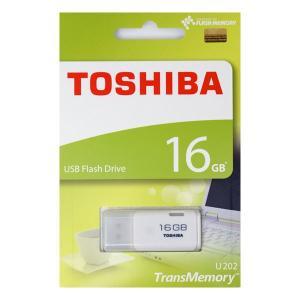 東芝 TransMemory USBメモリ 16GB ホワイト THN-U202W0160A4 [英語・紙パッケージ]|komamono