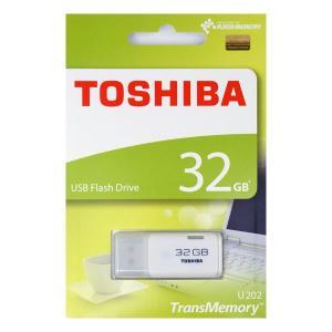 東芝 TransMemory USBメモリ 32GB ホワイト THN-U202W0320A4 [英語・紙パッケージ]|komamono