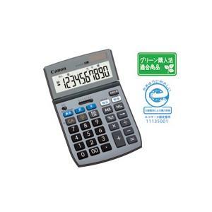 CANON キャノン チルト式液晶卓上電卓 10桁 TS-102TUG-SOB|komamono