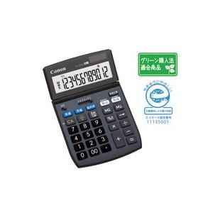 CANON キャノン チルト式液晶卓上電卓 12桁 TS-122TSG-SOB|komamono