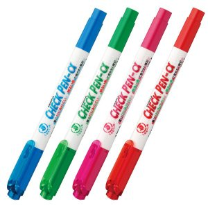 ゼブラ ZEBRA チェックペン α WYT20 全4色から選択