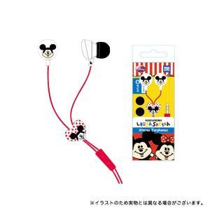 ラフスケッチ キャラクターイヤホン ミッキー YU-513336 [生産終了品]|komamono