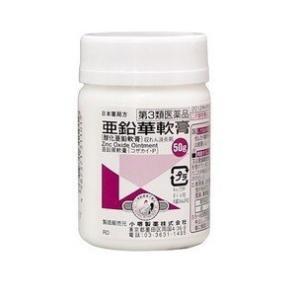 亜鉛華軟膏 50g 小堺製薬 (第3類医薬品)送料無料!|komatiyakuhin