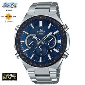 CASIO カシオ EDIFICE エディフィス タフソーラー 電波腕時計 メンズ EQW-T660DB-2AJF