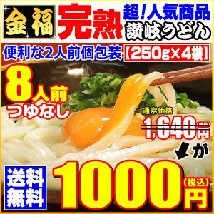 1640円⇒●1000円 送料無料 うどん 完熟半生讃岐うど...