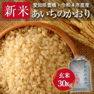 【令和元年度・愛知県豊橋産・送料無料】あいちのかおり・30kg まとめ買い・減農薬玄米|kome2