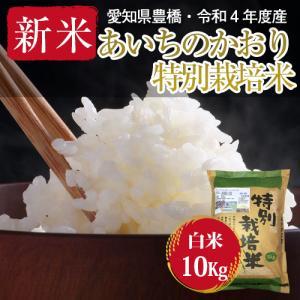 【農薬不使用・一等米】令和2年 ・新米・愛知県産・特別栽培米 あいちのかおり 白米10kg(5kg×2袋)|kome2