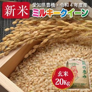 【令和2年度・新米・愛知県豊橋産・送料無料】ミルキークイーン・20kg(10kg×2袋)まとめ買い・減農薬玄米|kome2