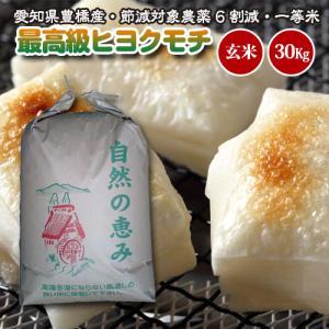 【令和元年度産・送料無料!(一部地域を除く)】 もち米・高級ヒヨクモチ 30kg 玄米|kome2