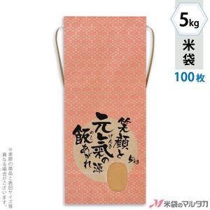 米袋 5kg用 銘柄なし 100枚セット KH-0033 元氣の源|komebukuro