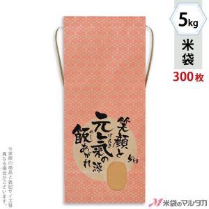 米袋 5kg用 銘柄なし 1ケース(300枚入) KH-0033 元氣の源|komebukuro