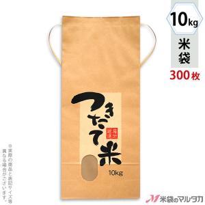 米袋 10kg用 銘柄なし 1ケース(300枚入) KH-0130 つきたて米 産地厳選|komebukuro