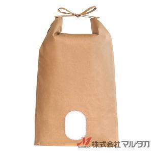 米袋 5kg用 無地 1ケース(300枚入) KH-0801 窓あり|komebukuro|02