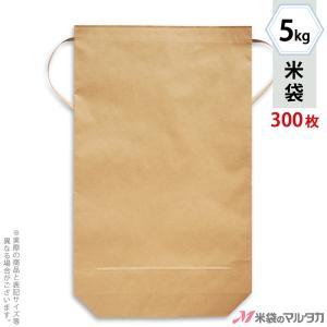 米袋 5kg用 無地 舟底 1ケース(300枚入) KH-0821 舟底 窓なし|komebukuro