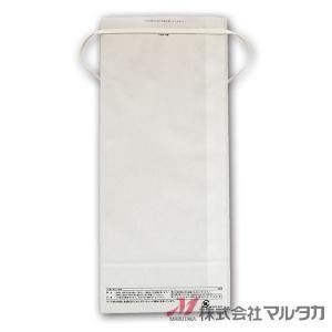 米袋 5kg用 無地 1ケース(300枚入) KHP-841 白クラフト 保湿タイプ 窓なし|komebukuro|03