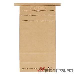 留具付米袋 1kg用 無地 100枚セット KHS-814 クラフト 保湿タイプ 窓なし komebukuro 03