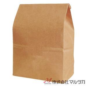 留具付米袋 300〜450g用 無地 100枚セット KHS-814 クラフト 保湿タイプ 窓なし|komebukuro|02