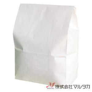 留具付米袋 1kg用 無地 50枚セット KHS-815 白クラフト 保湿タイプ 窓なし|komebukuro|02