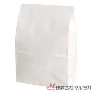 留具付米袋 300〜450g用 無地 100枚セット KHS-815 白クラフト 保湿タイプ 窓なし|komebukuro|02