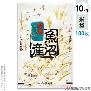 米袋 雲龍和紙 フレブレス 魚沼産こしひかり 金波 10kg用 100枚セット MK-0110|komebukuro