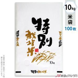 米袋 雲龍和紙 フレブレス 特別栽培米 自然がいちばん 10kg用 100枚セット MK-0251 komebukuro