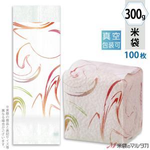 米袋 真空小袋ガゼット レーヨン和紙 ことか マーブル(銘柄なし) 300g 100枚セット VGY-415|komebukuro