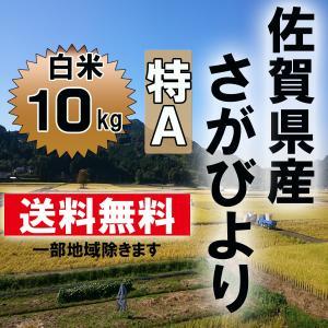 【29年産 特A】 佐賀県産 さがびより 白米10kg...