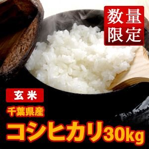 送料無料(北海道・九州・沖縄除く) 2年産 新米 千葉県産コシヒカリ(玄米)30kg komedonya