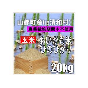 平成30年 玄米 熊本県山都町産アイガモ米 ヒノヒカリ 20kg|komehisa-kumamoto
