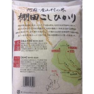 平成28年 白米 阿蘇産山村産 棚田こしひかり 5kg|komehisa-kumamoto|03