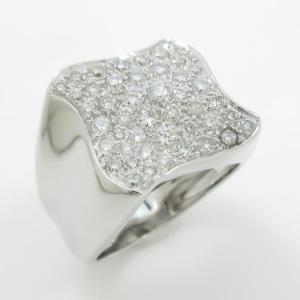 750WG ダイヤモンドリング|komehyo