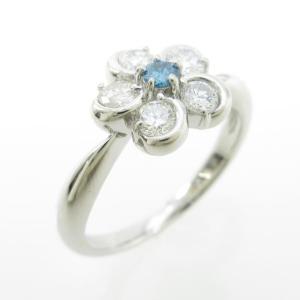 PT フラワー ダイヤモンドリング|komehyo