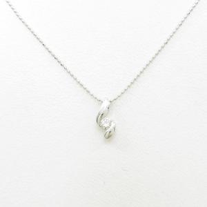 PT/K18WG ダイヤモンドネックレス|komehyo