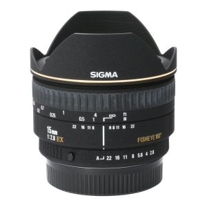 SIGMA ペンタ15mm F2.8EX FISHEYE