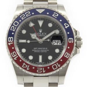 ロレックス 116719BLRO GMTマスターII WG ...